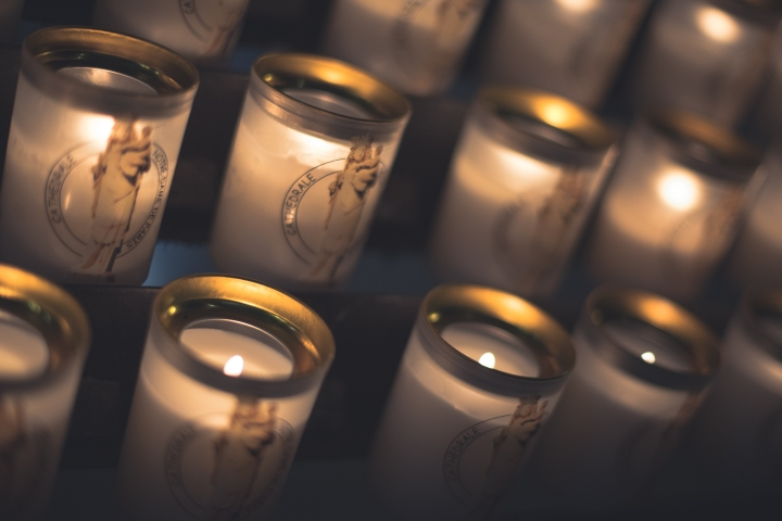 Notre-Dame Candles